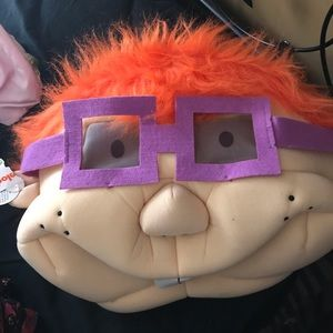 BNWT Chuckie from the Rugrats mask